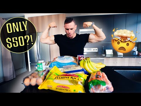 The $50/Week Muscle Building Grocery List (All Foods Revealed)