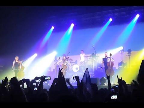 Apocalyptica сыграла гимн Украины / Apocalyptica Played The National Anthem Of Ukraine