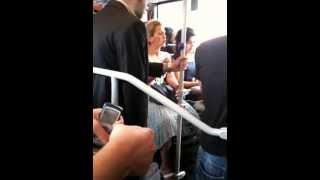 Metrobüs yer kavgası:)
