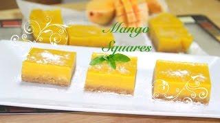 Mango Bars or Squares Video Recipe by Bhavnas
