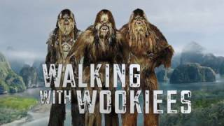 How To Walk Like a Wookiee With Chewbacca Actor, Peter Mayhew!