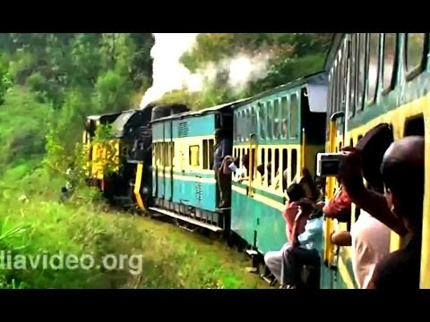 Train running to Ooty
