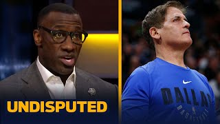 Skip & Shannon on Mark Cuban's decision to not play National Anthem at Mavs games   NBA   UNDISPUTED