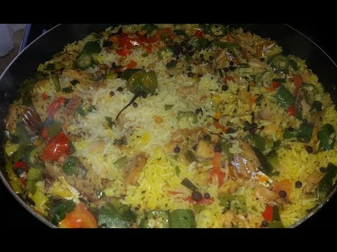 Jamaican Season Rice ( A Different Version )