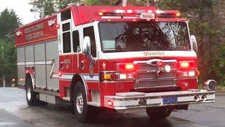 Fire Trucks Responding Compilation #10