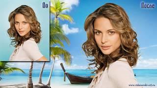 Сложное выделение волос в программе Adobe Photoshop CS5