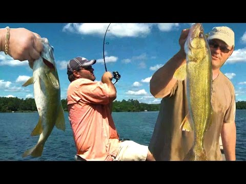 3 TIPS TO CATCH MORE WALLEYE AND BASS!