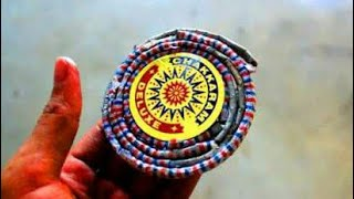 How to Make Chakri Firework at home