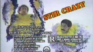 Stir Crazy 1980 TV trailer