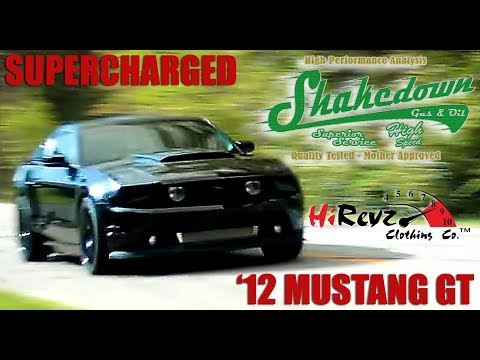 """""""Sinister"""" - 550hp Supercharged 2012 Mustang GT 5.0 on """"Shakedown"""""""
