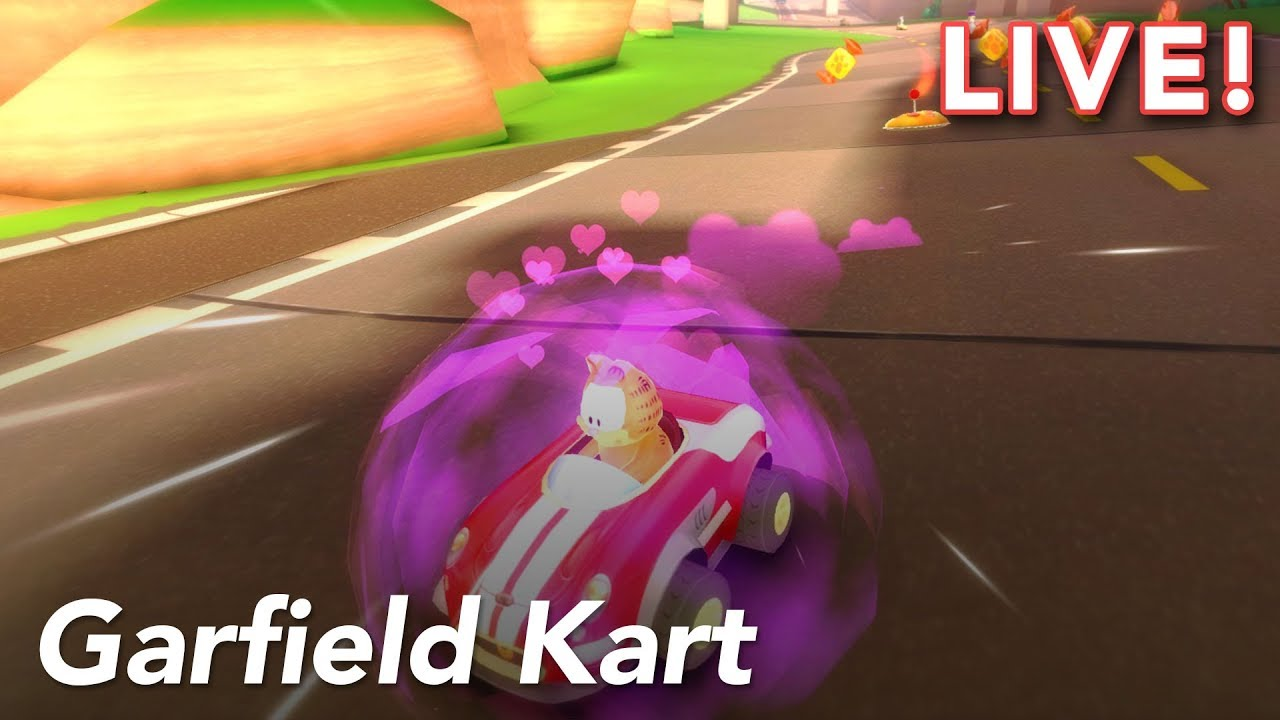 Garfield Kart with Maddy and Gita   8/23/18