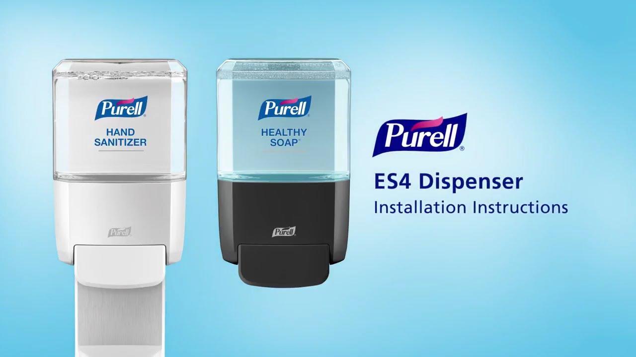 Gojo Us Purell Dispenser Installation