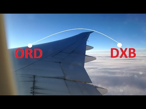 The Emirates Journey-ORD To DXB | Boeing 777-200LR | Economy Class | EK236