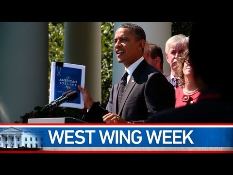 """West Wing Week: 9/16/11 or """"Pass This Bill"""""""