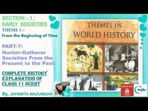 THEME-1: FROM THE BEGINNING OF TIME (PART-7) Hunter-Gatherer Societies From The Present To The Past