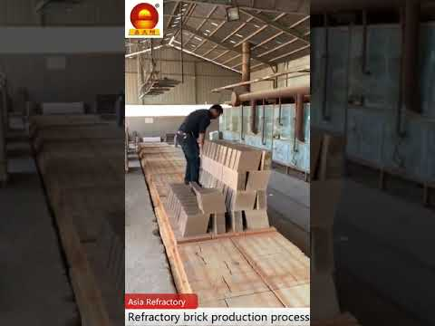 Refractory Brick Production Process
