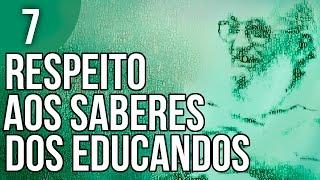Baixar Cap. 1.3 - Ensinar Exige Respeito aos Saberes dos Educandos - Pedagogia da Autonomia de Paulo Freire