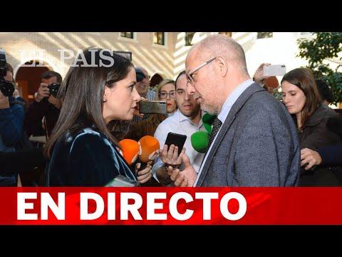 DIRECTO CIUDADANOS   DEBATE Entre ARRIMADAS E IGEA