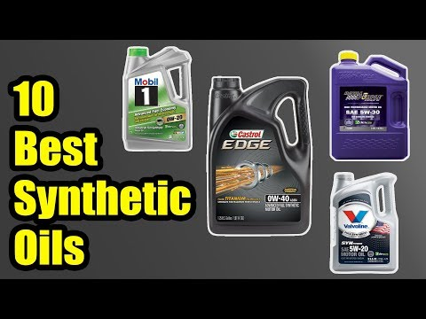 10 Best Synthetic Oils 2018 | Best Synthetic Motor Oils 2018 #SyntheticOils