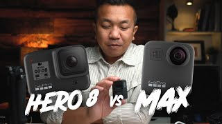 GoPro HERO8 or GoPro MAX? Which one should you get?