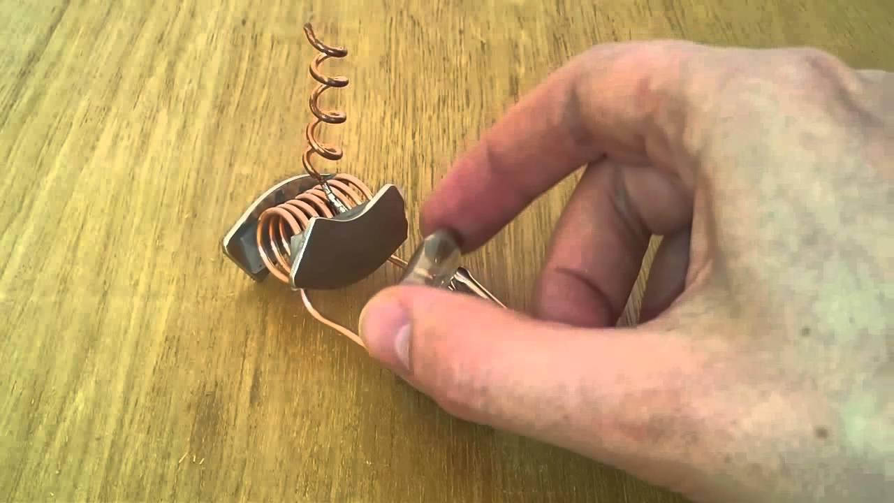 Magnetfeld, Freie Energie. Magnete und Kupfer Ergebnis Strom ...