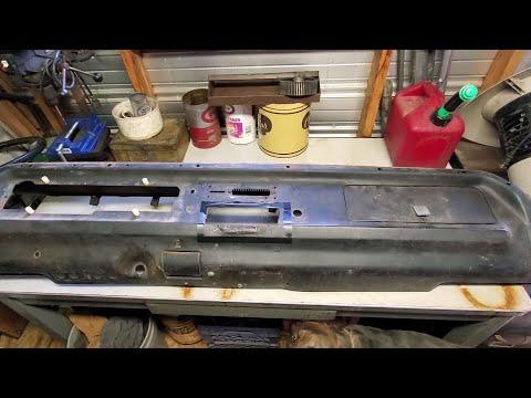 Metal Dash Restoration Part 1