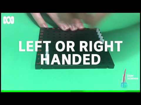 Dear Science: Are you sure you're right handed?