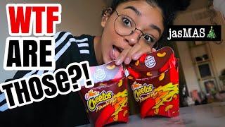 WTF MAC & CHEETOS FLAMIN HOT?!!! | jasmeannnn