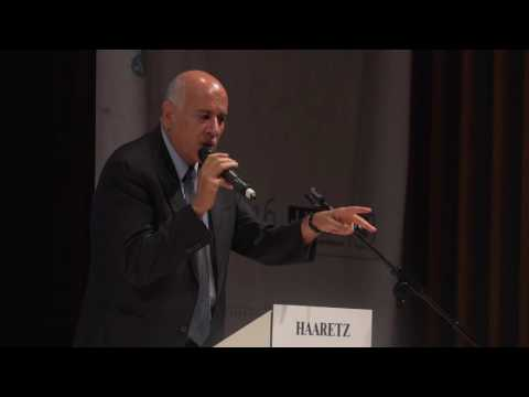 Jibril Rajoub addresses the Haaretz Israel Conference in London Part 3