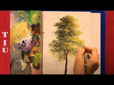 Hướng dẫn vẽ cây-Tiu art