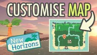 Animal Crossing New Horizons - CUSTOMISE MAP?