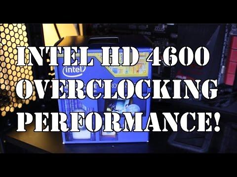 Intel HD 4600 Overclocking Perfomance Fallout 4, Star Wars Battlefront, GTAV, Dirt Rally