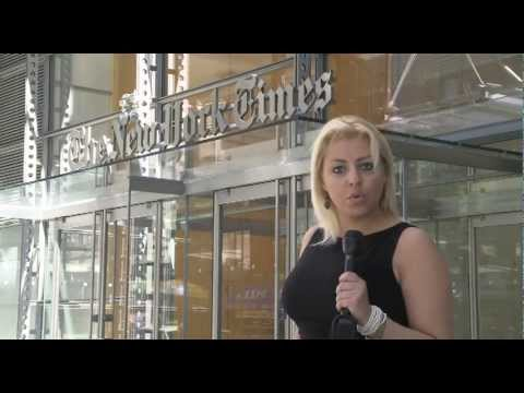 Mary Giuffre' TG5  Interview Eric Dash - New York Times