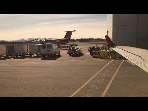 Anchorage, Alaska to Kenai, Alaska in a Beechcraft 1900D on Ravn Air PANC to PAEN
