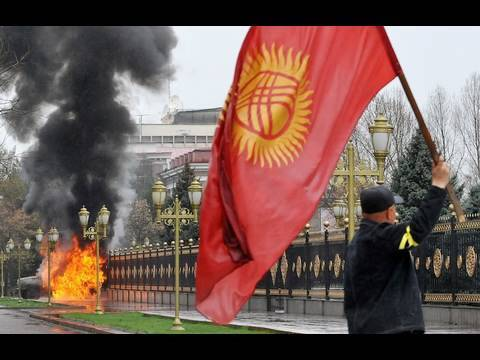 Video Dispatch: A Government Falls in Kyrgyzstan