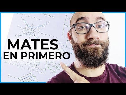 Las MATES De PRIMERO   PRIMER AÑO De INGENIERÍA INFORMÁTICA 2