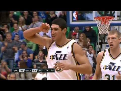 ENES KANTER 5 BEST OF DUNKS