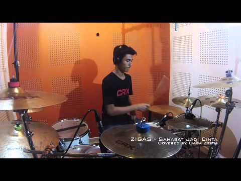 (Drum Cover) Zigas - Sahabat Jadi Cinta