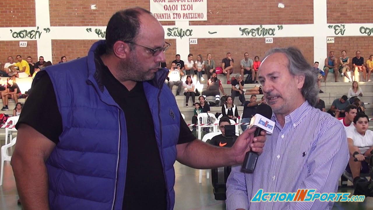 Ο Στέλιος Στυλιανού μέλος του ΔΣ του ΚΟΑ  μιλά για το 16ο Παγκυπριο πρωτάθλημα κλειστής κωπηλασίας