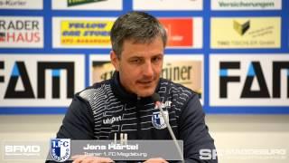 Pressekonferenz - 1. FC Magdeburg gegen FSV Budissa Bautzen 2:0 (1:0) - www.sportfotos-md.de