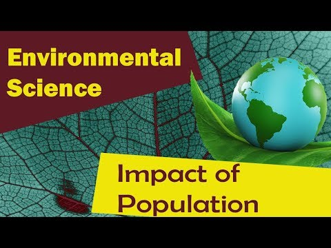 Factors Effecting Environment- Population Growth | Impact of Population Growth