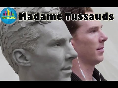 Madame Tussauds London:The making of Benedict Cumberbatchs Wax figure at Madame Tussauds London