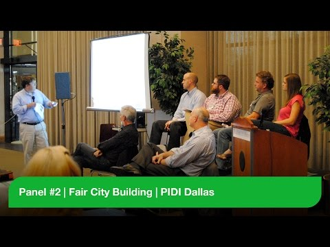 Panel #2 - Fair City Building - PIDI Dallas