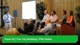 Panel #2 - Fair City Building - PIDI Dallas