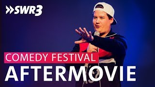 "Das ""SWR3 Comedy Festival 2018""-Aftermovie"