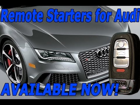 2015 Audi Q5 Remote Start - How to start with your Key FOB