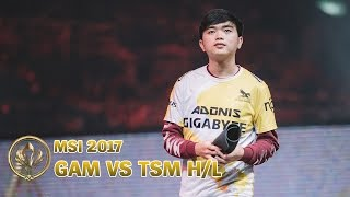 MSI 2017 Highlight: Đánh bại TSM, GAM phục hận thành công
