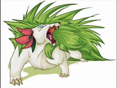 evolution of shaymin part 2 youtube