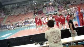 Polska-Kuba 3.07.2010 siatkówka