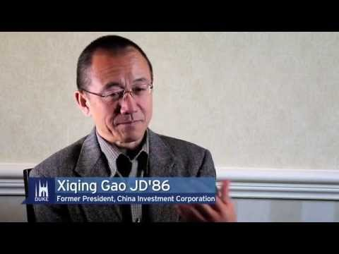 Duke University Alumni: Gao Xiqing JD'86